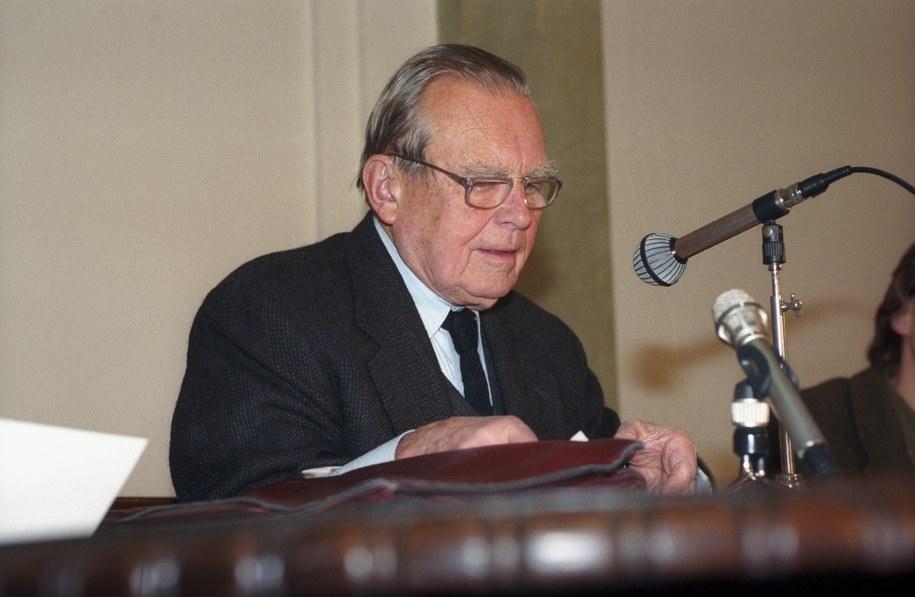 Czesław Milosz /PAP/Maciej Belina Brzozowski /PAP