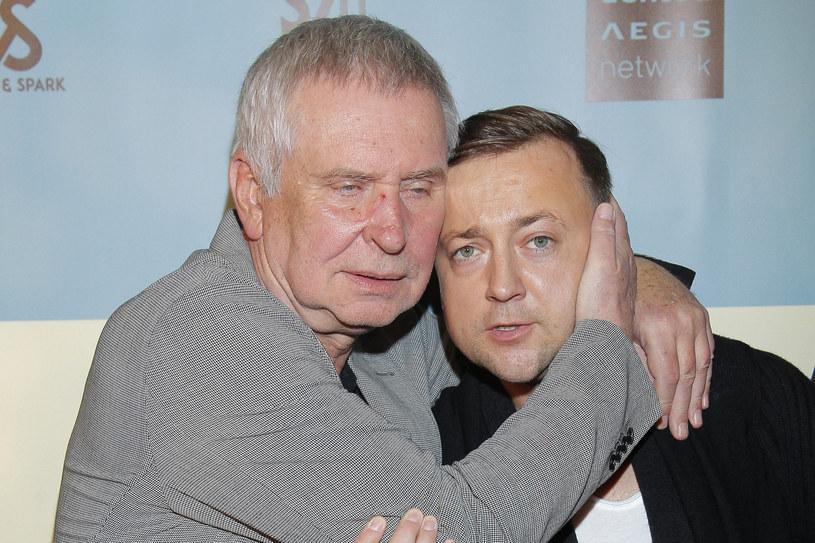 Czesław Mozil i Krzysztof Materna /Krzemiński Jordan /AKPA