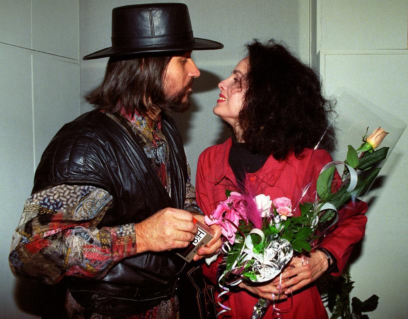 Czesław Niemen z żoną Małgorzatą /Zenon Zyburtowicz /Fotonova