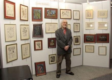 Czesław Tumielewicz na Targach Bursztynu AMBERIF 2009 /portalpomorza.pl