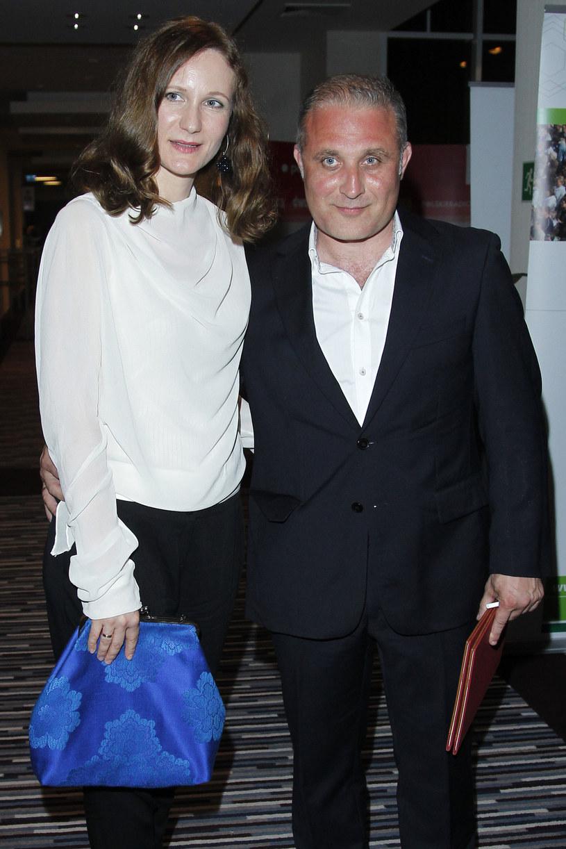 Często ma okazję pracować z żoną, reżyserką Anną Wieczur-Bluszcz /Engelbrecht /AKPA