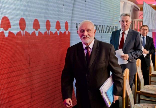 Członkowie PKW /Marcin Obara /PAP