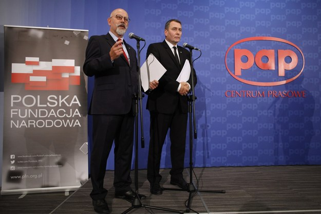 Członkowie zarządu Polskiej Fundacji Narodowej /Stefan Maszewski /Reporter