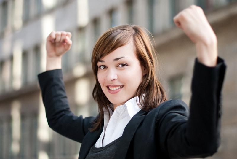 Czterech na pięciu Polaków ma poczucie, że osiągnęło życiowy sukces. /© Panthermedia