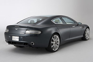 Czterodrzwiowy Aston Martin