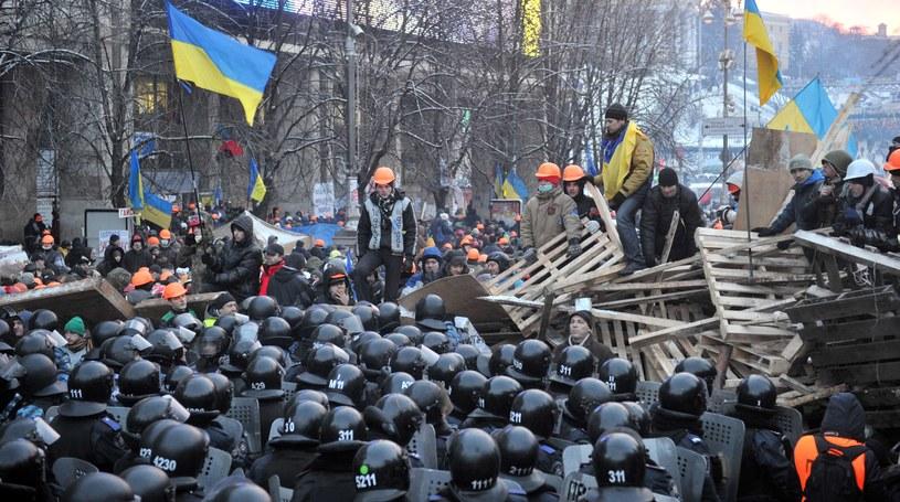 Czterogodzinny atak na Majdan zakończył się wycofaniem milicji. /AFP