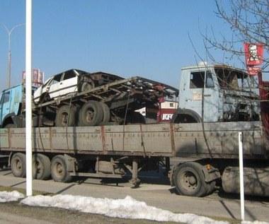 Czteropiętrowa ciężarówka? To żaden wyczyn...