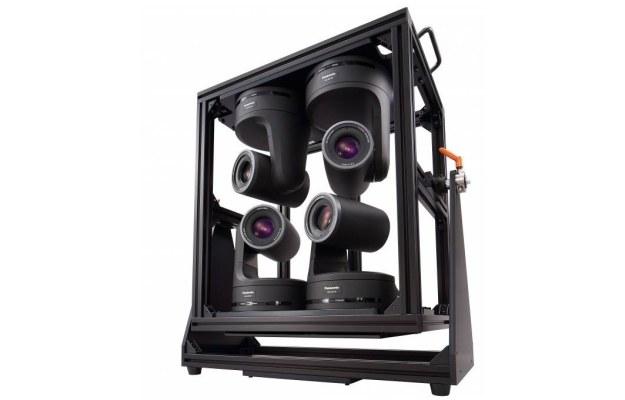 Cztery kamery zapewniają obraz o proporcjach 64:9 /materiały prasowe