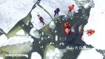 Cztery orki utknęły pod krą w Rosji