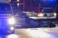 Cztery osoby ranne w wypadku na obwodnicy Opola