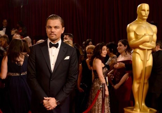 Czu DiCaprio zagra Jobsa? I czy wreszcie dostanie swojego Oscara? /AFP