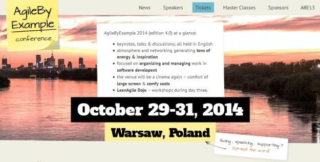Czwarta edycja konferencji AgileByExample /materiały prasowe