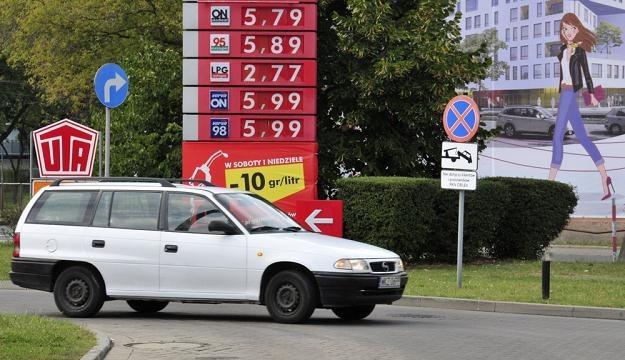 """Czy 6 zł za litr """"pęknie""""? / Fot: Włodzimierz Wasyluk /Reporter"""
