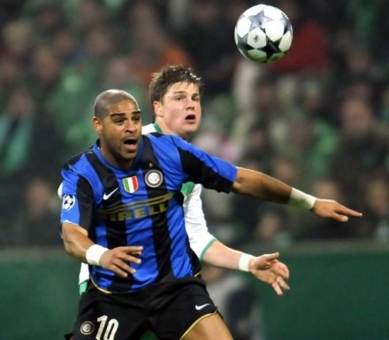 Czy Adriano będzie musiał opuścić Inter? /AFP