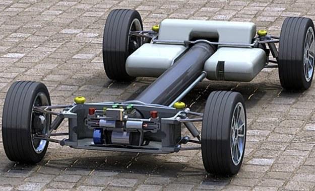 Czy do napędu samochodu  można zaprzęgnąć hydropneumatykę? /