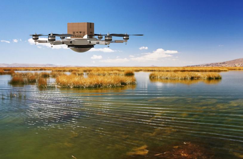 Czy drony to przyszłość transportu żywności? /©123RF/PICSEL