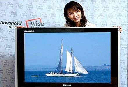 Czy Epson pomoże w produkcji większych telewizorów OLED? /AFP