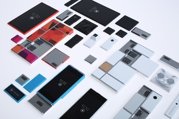 Does Google abandon modular phones? / press materials