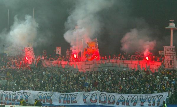 Czy kibice Górnika doczekają się lepszej przyszłości swojego klubu?/fot. Wojciech Łysko /Agencja Przegląd Sportowy