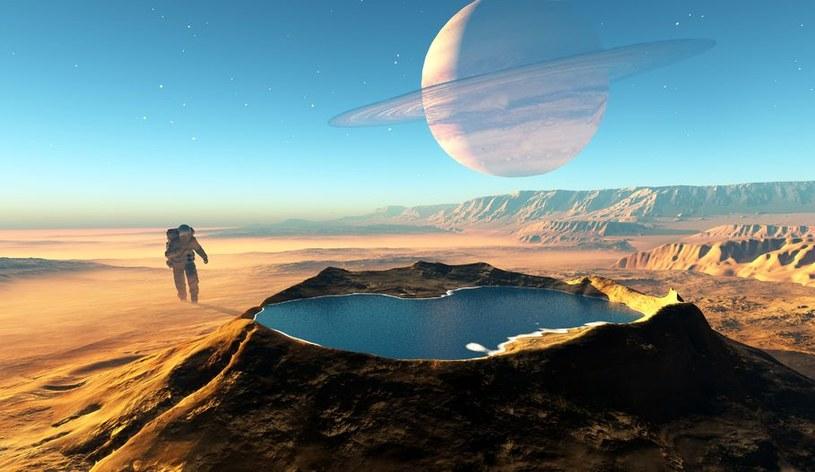 Czy kiedyś będziemy podóżować na odległe egzoplanety? Póki co nie możemy wydostać się poza układ Ziemia - Księżyc /123RF/PICSEL