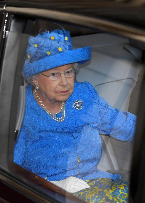Czy królowa zamanifestowała swój sprzeciw wobec Brexitu? /East News