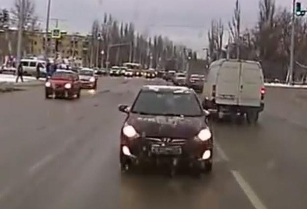 Czy któryś kierowca stchórzy? /