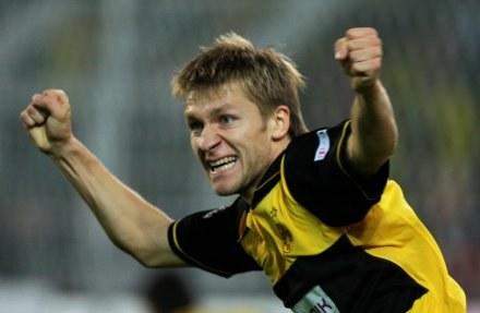 Czy Kuba i jego Borussia przełamią się na stadionie Legii? /AFP
