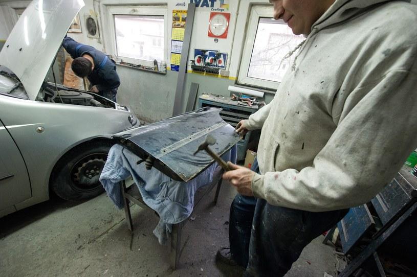 Czy mechanicy kradną części? Raczej nie /Tadeusz Koniarz /Reporter