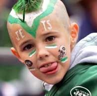 Czy młody fan Jets będzie miał w niedzielę powody do radości /AFP