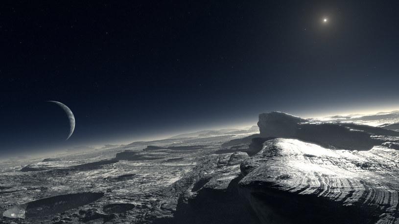 Czy na Plutonie istniały kiedyś płynne oceany? /materiały prasowe