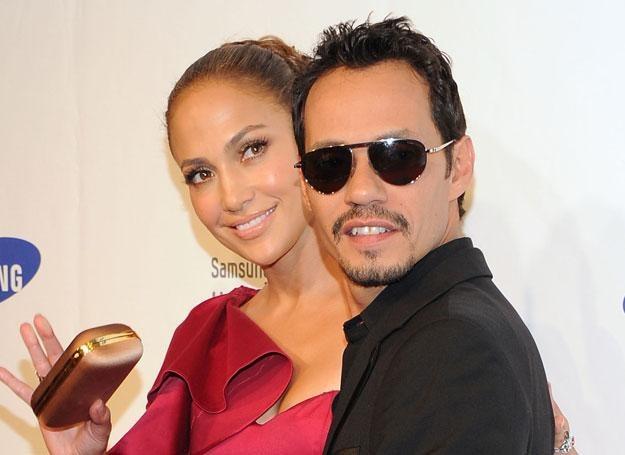 Czy naprawdę powodem kłótni Jennifer Lopez i jej męża Marca Anthony'ego jest przystojny model? /Getty Images/Flash Press Media