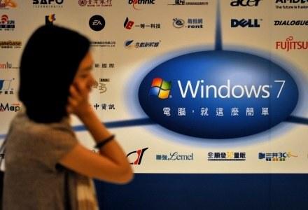 Czy następcy Windows 7 możemy spodziewać się już jesienią 2011 roku? /AFP
