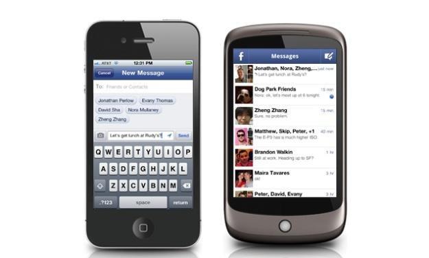 Czy nowa aplikacja Facebooka będzie konkurencją dla SMS-ów /materiały prasowe