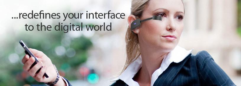 Czy okulary Vuzix M100 staną się popularniejsze niż Google Glass /materiały prasowe