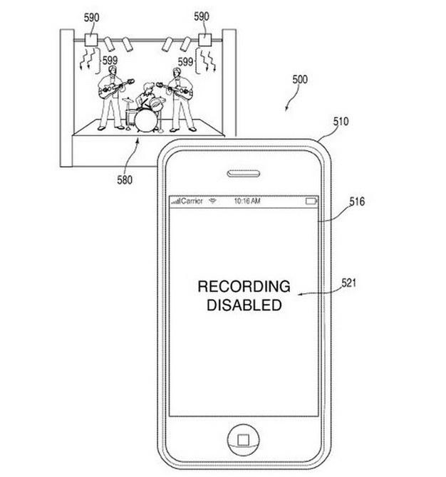 Czy patent Apple zostanie wykorzystany tylko do respektowania praw autorskich? Źródło: Apple/Urząd Patentów i Znaków Towarowych Stanów Zjednoczonych /Tylkonauka.pl