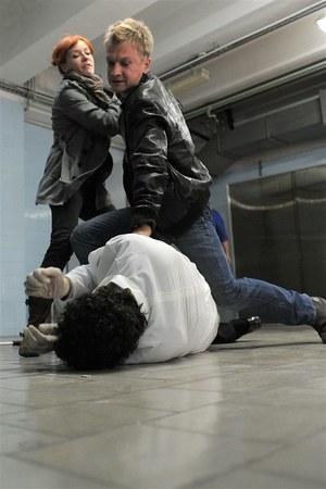 Czy policjanci zdążą uratować Aleksa? /  /Agencja W. Impact