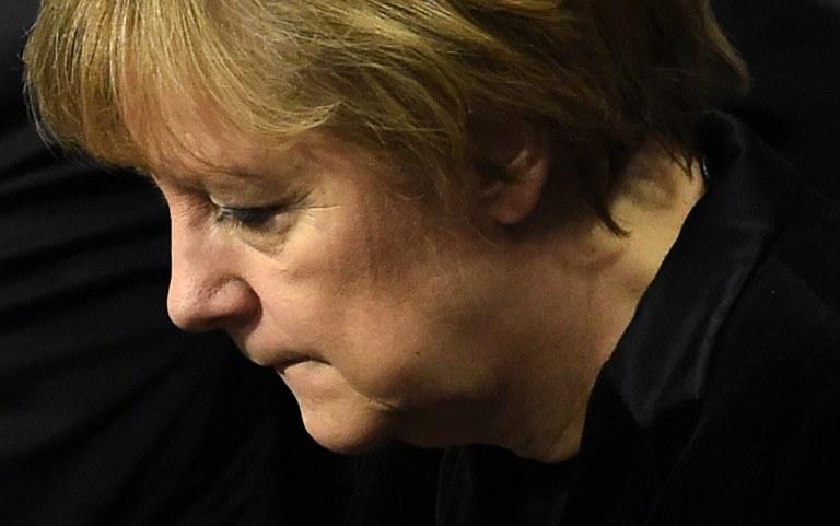 Czy przyszłość Angeli Merkel jest zagrożona? /AFP