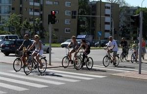 Czy rowerzyści zmądrzeli? Ależ skąd!