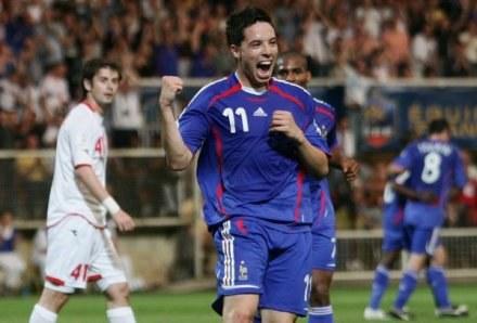 Czy Samir Nasri trafi na Santiago Bernabeu? /AFP