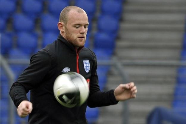Czy skandal obyczajowy wpłynie na formę Wayne'a Rooneya? /AFP