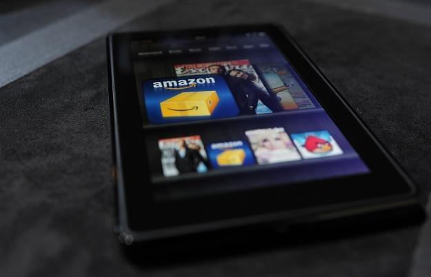 Czy smartfon Amazonu powtórzy sukces tabletu Kindle Fire? /AFP
