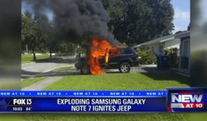 Czy smartfon przyczynił się do pożaru w garażu i eksplozji w samochodzie?