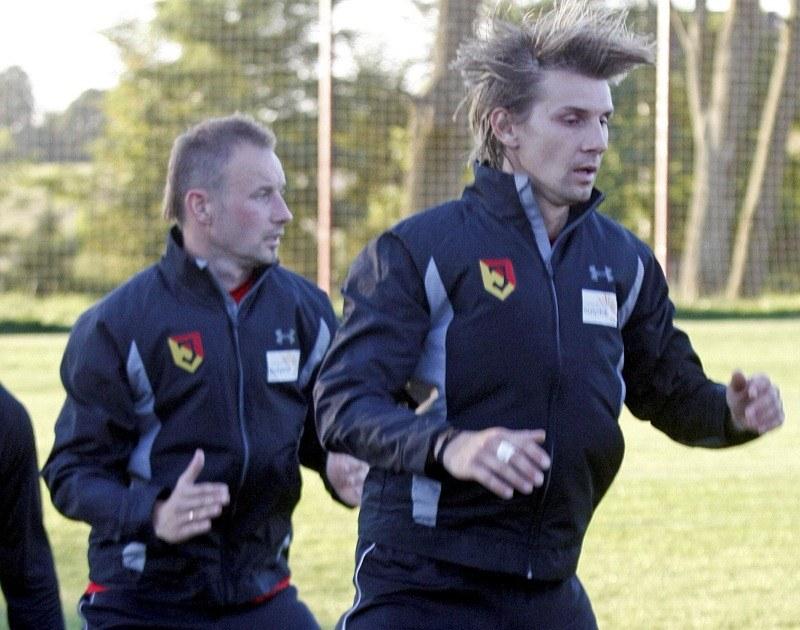 Czy Smolarek odbuduje reprezentacyjną formę w Jagiellonii? /Artur Reszko /PAP