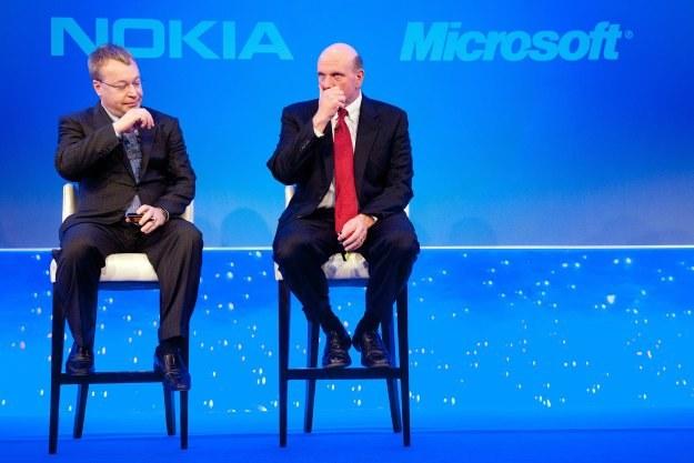 Czy Stephen Elop zastąpi Steve'a Ballmera na stanowisku szefa Microsoftu? /AFP