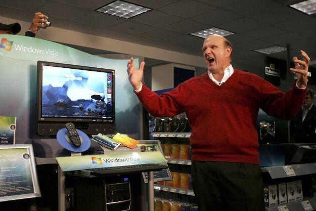 Czy Steve Ballmer powinien zapłacić głową za porażki Microsoftu /AFP