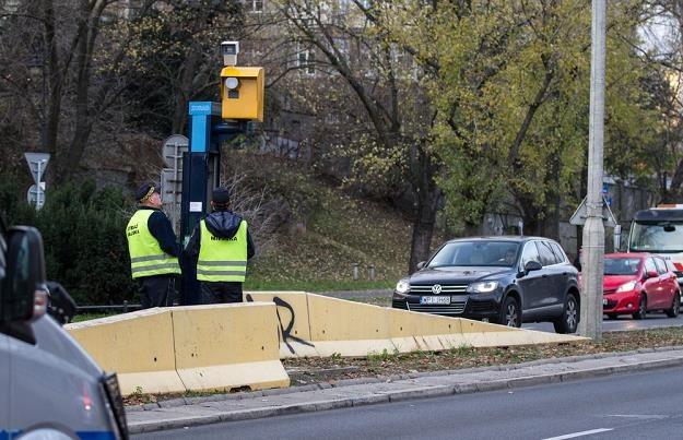 Czy straż może korzystać z takich fotoradarów? / Fot: Lech Gawuc /Reporter