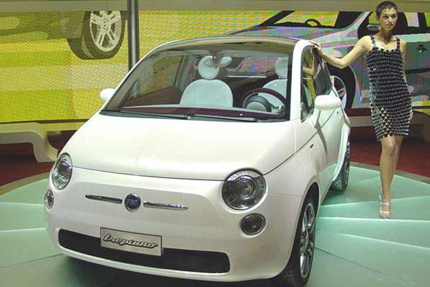 Czy tak będzie wyglądał Fiat 500? / Kliknij /INTERIA.PL