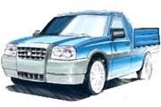 Czy tak będzie wyglądał następca Poloneza Trucka? /INTERIA.PL
