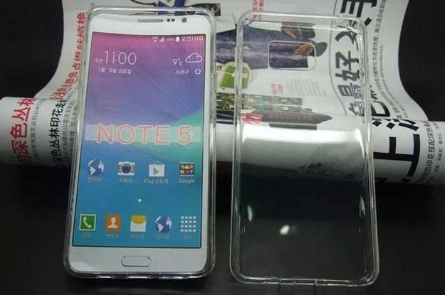 Czy tak będzie wyglądał Note 5? Fot. @OnLeaks /materiały prasowe