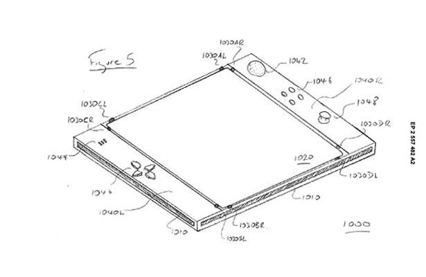 Czy tak będzie wyglądał nowy kontroler do stacjonarnych konsol Sony? /materiały prasowe